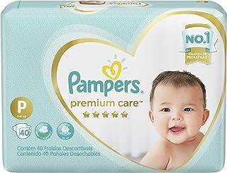Fralda Pampers Premium Care, 40 Unidades, P