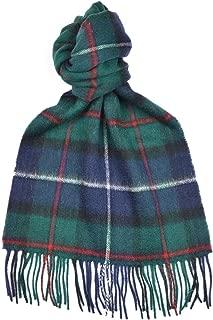 Lambswool Scottish Robertson Hunting Modern Tartan Clan Scarf Gift