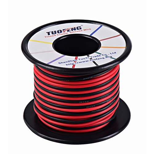 65Ft 22 Gauge Soft and Flexible Silicone Wire Cable for RC DIY Accessories