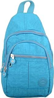 Mens/Womens Crinkled Nylon Handy Practical Tavel Ruck Sack/Back Pack