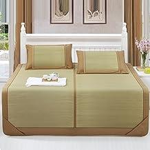 ZHI CHENG Cool Mattress,Bedding Straw Mat Summer Sleeping Mats Bed-mat Collapsible Repellent Comfortable Home Multifunctio...