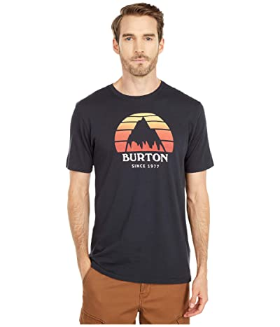 Burton Underhill Short Sleeve T-Shirt (True Black) Clothing
