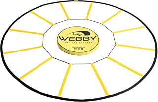 Webby Agility Trainer – Circle Speed and Agility Ladder for High Intensity Footwork Drills and Skills – A Circular Piece of Training Equipment That Changes The Way You Move
