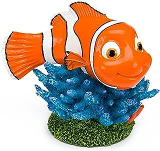 Penn Plax Finding Nemo on Coral 6 in. Aquarium Ornament