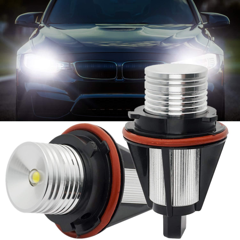 Angel Eyes Halo Ring CREE LED Marker 10W For BMW E39 E53 E60 E61 E63 E87 White