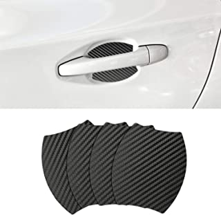 Door Handle Trim Magnetic Door Cup Paint Scratch Protector Cover Accessories for Subaru Outback (4 Pcs)