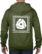 Tribal T-Shirts Northern Soul All Nighter 45 Vinyl Adapter Full Zip Hoodie