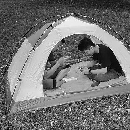 MJY Tente Tente Extérieure épaisse Tente Imperméable Anti-Pluie 2-3 Personnes Camping Tente Multi-Couleur En Option,vert,200  140  110cm