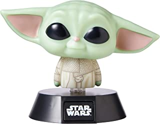 Paladone Lámpara Icon Star Wars The Mandalorian, Baby Yoda, Multicolor
