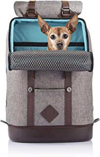 Kurgo Dog Carrier Backpack for Small Dogs & Cats, G-Train Pet Backpack Carrier, Airline Approved, Cat Backpack, Small Dog ...
