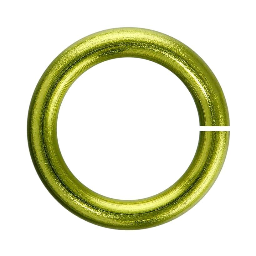 18-Gauge 3.5mm Peridot Enameled Copper Jump Rings - 1 ounce