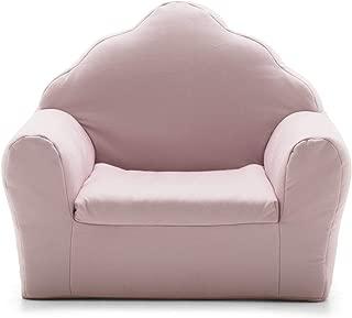 Big Joe 1595663 Art Deco, Lenox Morganite Pink Kid's Chair, (Renewed)