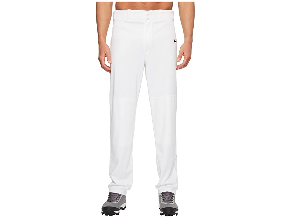 Nike Core Baseball Pant (Team White/Team Black) Men