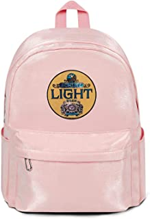 Wudo Schlitz Beer Light Backpack for Women,Man Camera Backpack