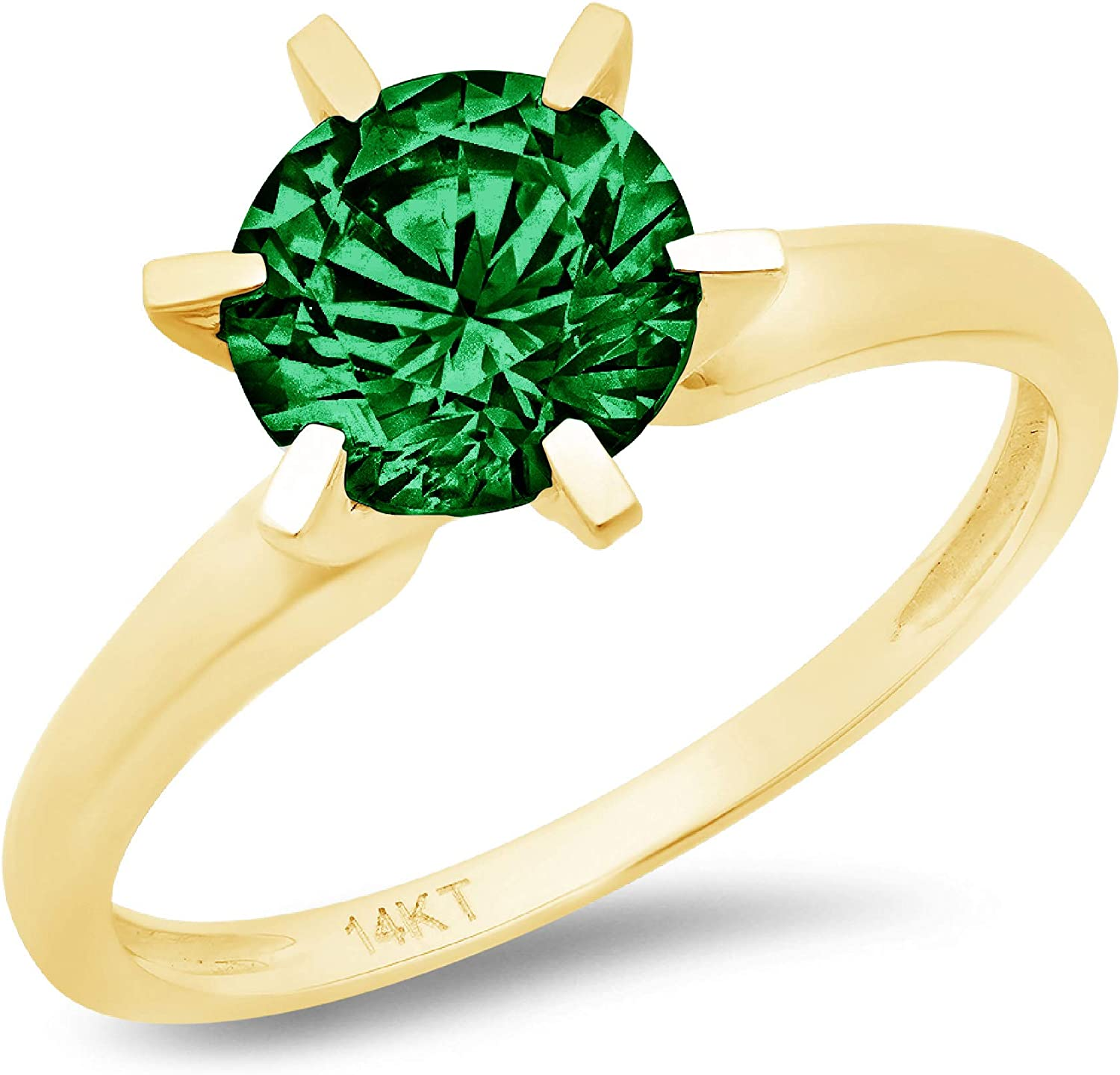 Max 40% OFF 0.9ct Brilliant Round Cut Solitaire Max 55% OFF Simulated Flawless Zir Cubic