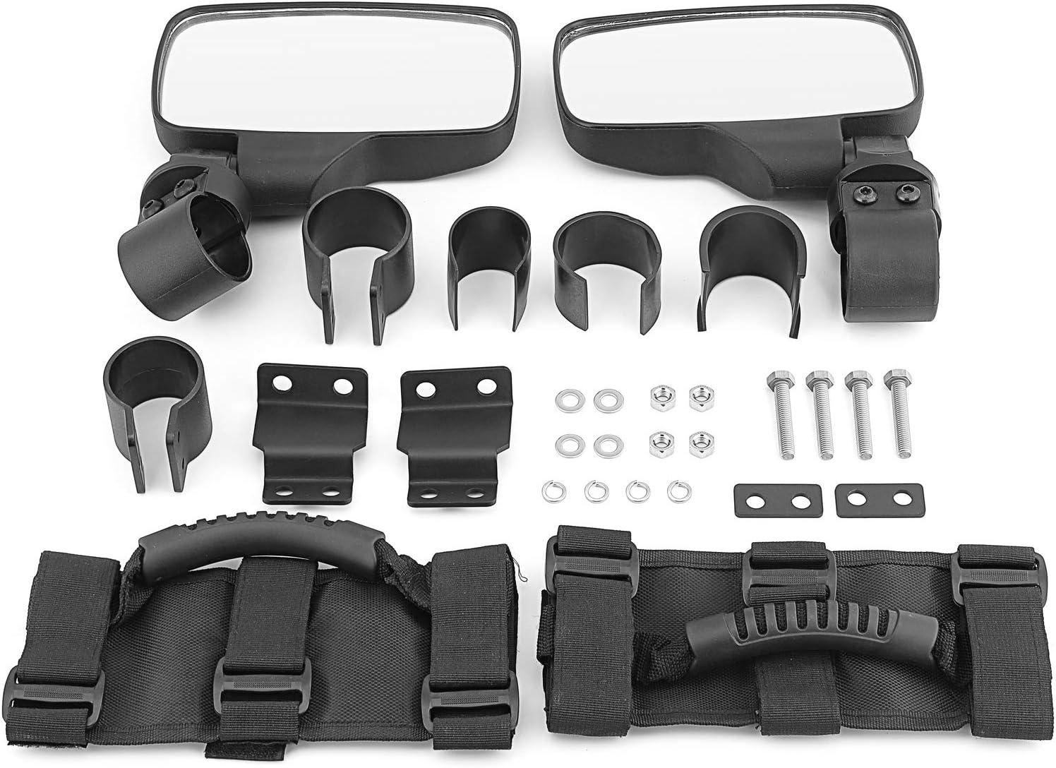 WeiSen Rear Side View Mirrors Cheap Japan's largest assortment sale Handle & Grip Kit Compatible