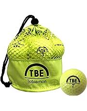 TOBIEMON(トビエモン) ゴルフボール 公認球 2ピース 1ダース(12個入り) メッシュバック入り