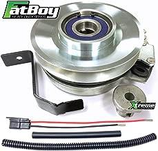 Bundle - 2 items: PTO Electric Blade Clutch, Wire Harness Repair Kit. Replaces John Deere PTO Clutch 145, 155C, 190C L120 L130 LA130 140 145 150 155 165 175 D140-D170 Mower, GY20878, Bearing Upgrade!
