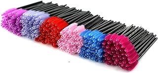 ezgo 300包多色一次性睫毛睫毛膏 brushes wands applicator 化妆刷 kits 6色可选