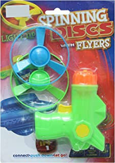 Feilun N-306 Sprinning Discs Gun With Flyers For Boys, Multi Color - 2724629817068