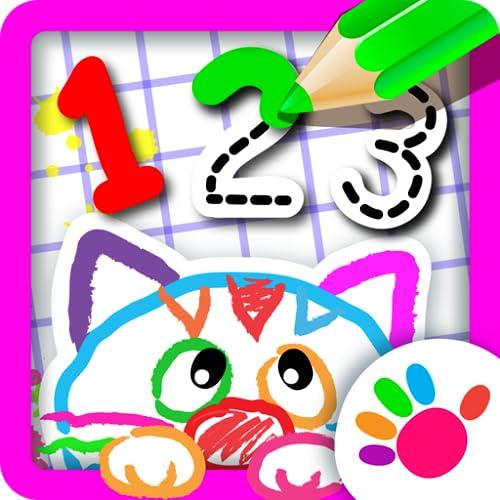 123 Desenho Jogos infantil educativo para crianças