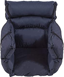 DMI Comfort Wheelchair Cushion, Wheelchair Seat Cushion, Total Wheelchair Pillow, Recliner or Chair Cushion, Navy