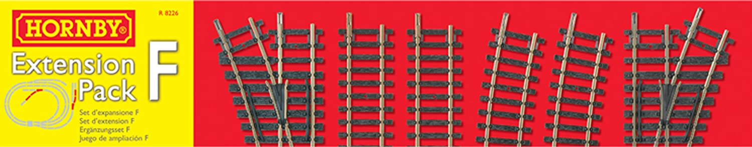 Hornby R8226 00 Gauge Extension Pack F Trakmat Packs And Accessory