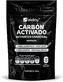 Carbón Vegetal Activado grado alimenticio 100 gr