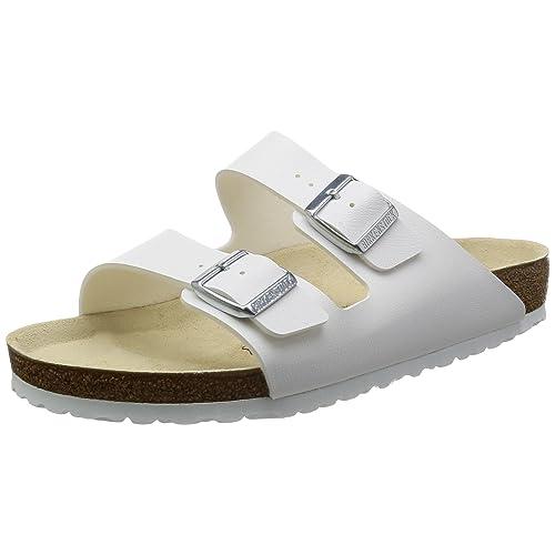 6db27fb91d87 Birkenstock Arizona Sandals Birko Flor - EUR 38 - Narrow - White