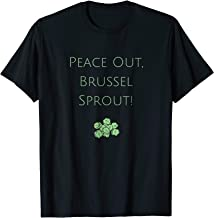 Little Sprouts-Peace out Brussel Sprout T-shirt