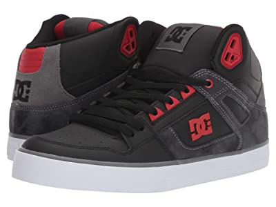 DC Pure High-Top WC (Black/Red) Men
