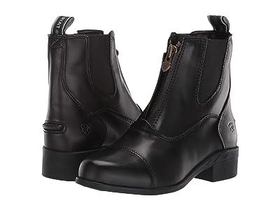 Ariat Kids Devon IV Paddock (Little Kid/Big Kid) (Black) Kids Shoes