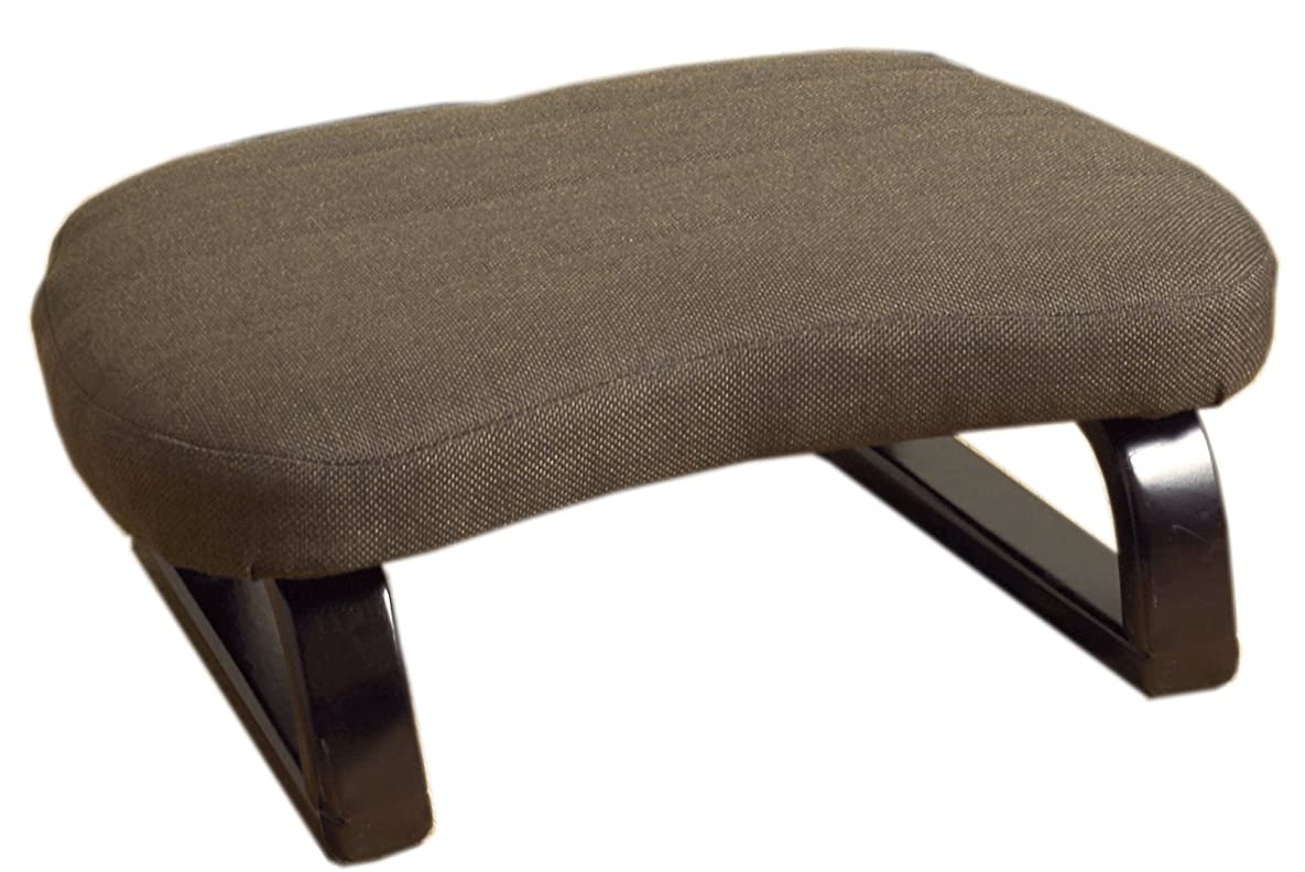 振りかける蓄積するアーネストシャクルトンあぐら正座椅子 ダークブラウン SZ-雅(ミヤビ)DBR