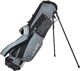 LEZAX(レザックス) キャディーバッグ LN JAYA キャディバッグ スタンドタイプ LNCB-7254 グレー