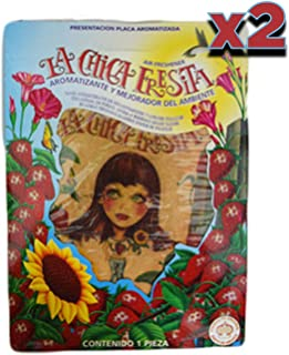 Parts Direct cf-2 2X La Chica Fresita Automotive Air Freshener, Strawberry, 2 Piece