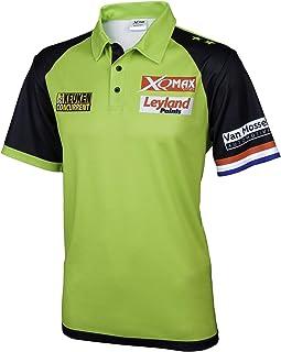 TW24 Poloshirt Michael Van Gerwen für Herren Version 2018 Matchshirt Dartshirt Größe S-XXXL Wettkampfshirt