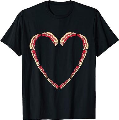 I Love Heart Bacon T-Shirt