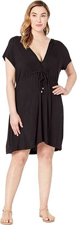 Plus Size Paradise Solids Dress Cover-Up