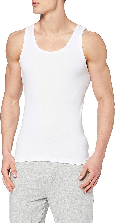 ABANDERADO Camiseta de Manga Corta Cuello Redondo de Algodón Canalé Hombre