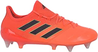 Performance Mens ACE 17.1 Leather SG Soccer Boots - Orange
