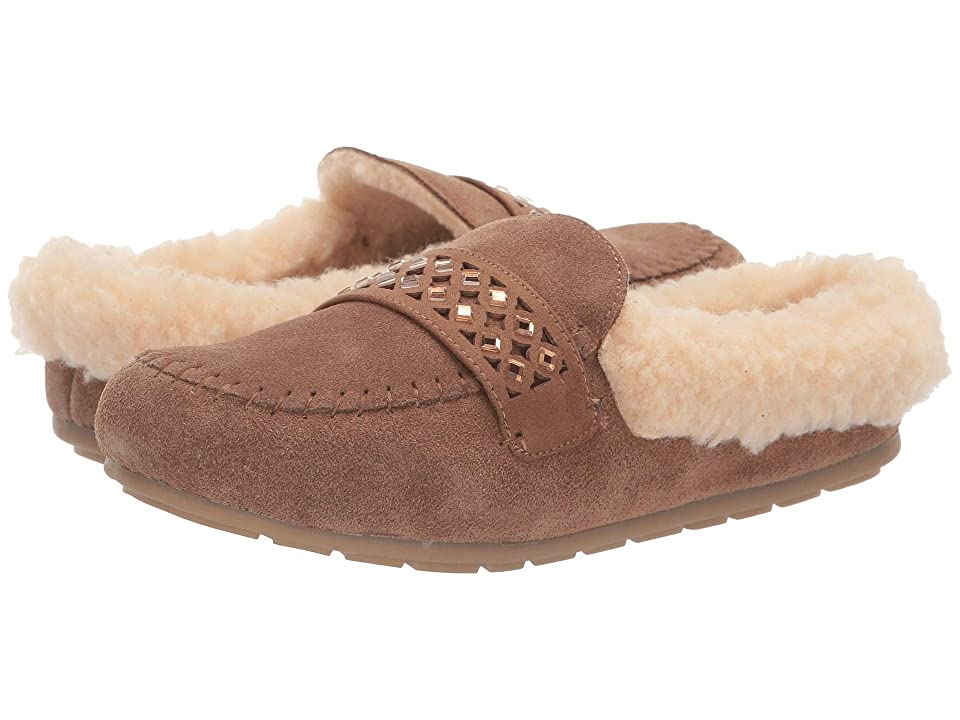 Bearpaw Tilley (Hickory) Women's Slippers, Brown