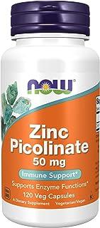 Now Foods Zinc Picolinate Veggie Capsules