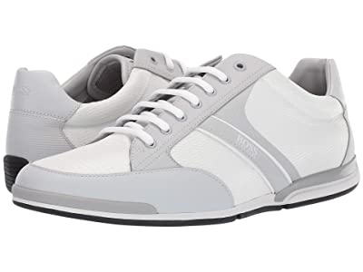 BOSS Hugo Boss Saturn Low Profile Sneakers (Light/Pastal Grey) Men