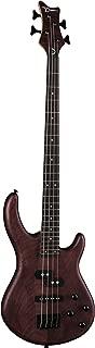 Dean Guitars 4 String Dean Edge 1 PJ Bass Guitar - Vintage Mahogany, Right (E1PJ VM)