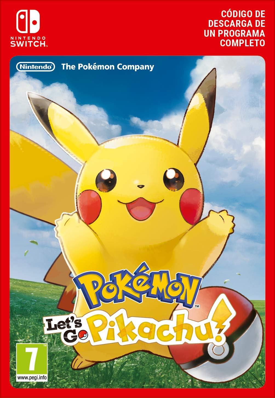 Pokémon: Let's Go, Pikachu! | Nintendo Switch - Código de descarga