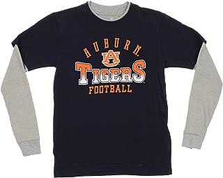 NCAA Little Boys (4-7) Kids Long Sleeve Tee, Many Teams (Auburn Tigers, Medium (5/6))