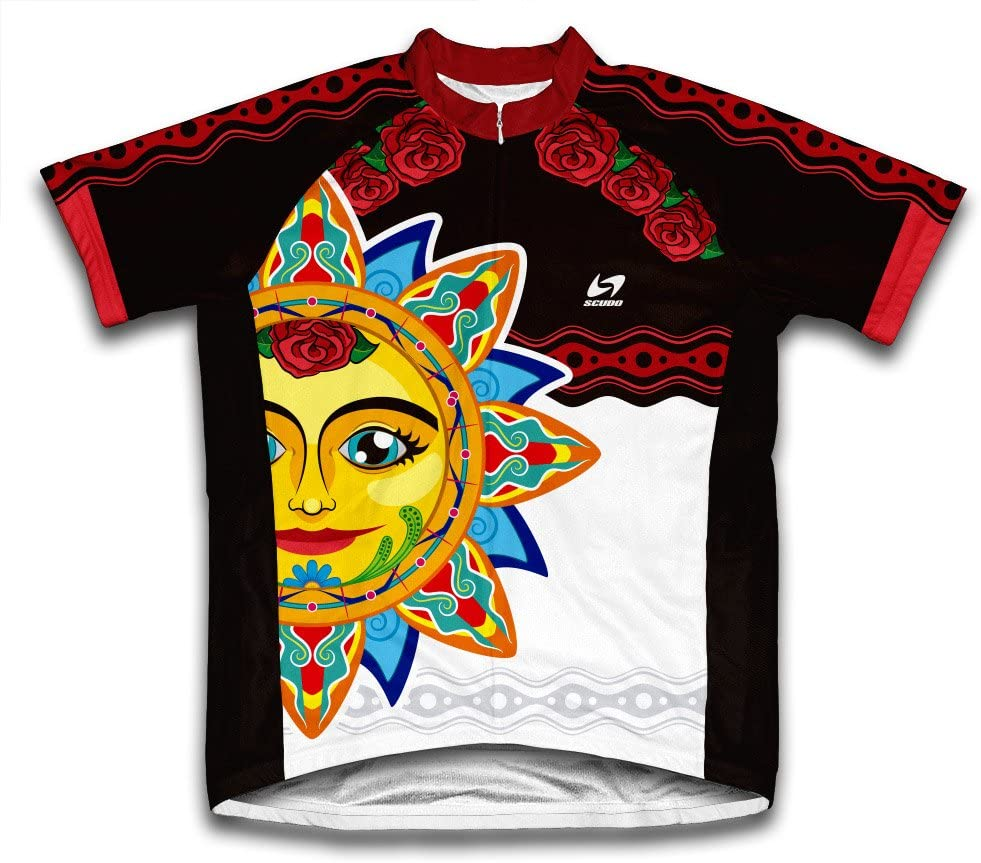Mexican 4 years warranty Chicago Mall Sun Short Sleeve for Cycling Jersey Men
