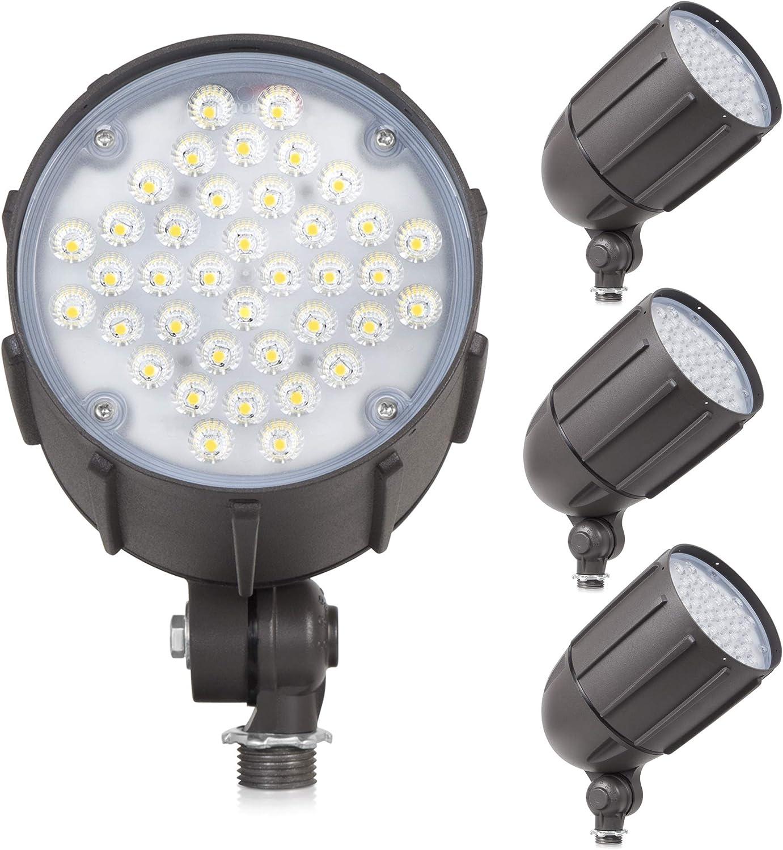 40-Watt LED 品質保証 Bullet Flood Light for ランキング総合1位 Landscape Volt Outdoor Li 120