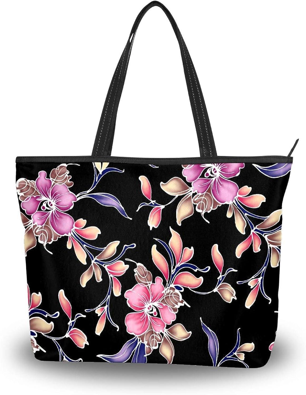 50 1 year warranty unisex Cent Retro Flowers Tote Lightweight Shou Women Polyester Bag