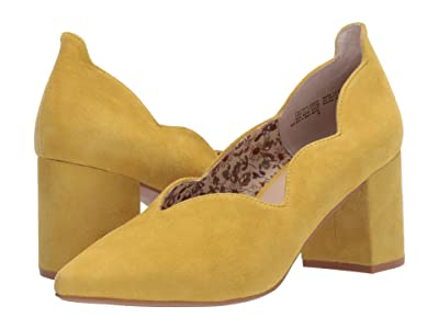Seychelles Cascade Pump (Yellow Suede) High Heels